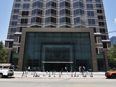Goldman Sachs already has more than 1,000 workers in the Trammell Crow Center on Ross Avenue in downtown Dallas.