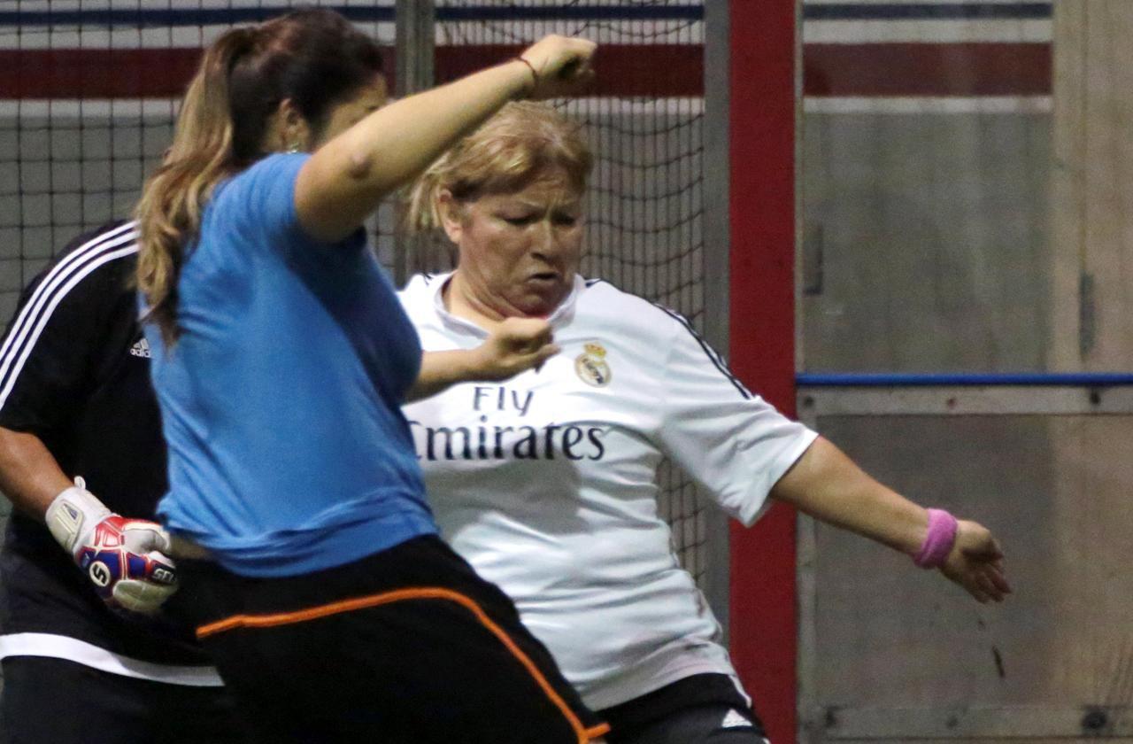 Rosa Sánchez juega con el equipo Lino's Team en la Big Dreams de Mansfield.