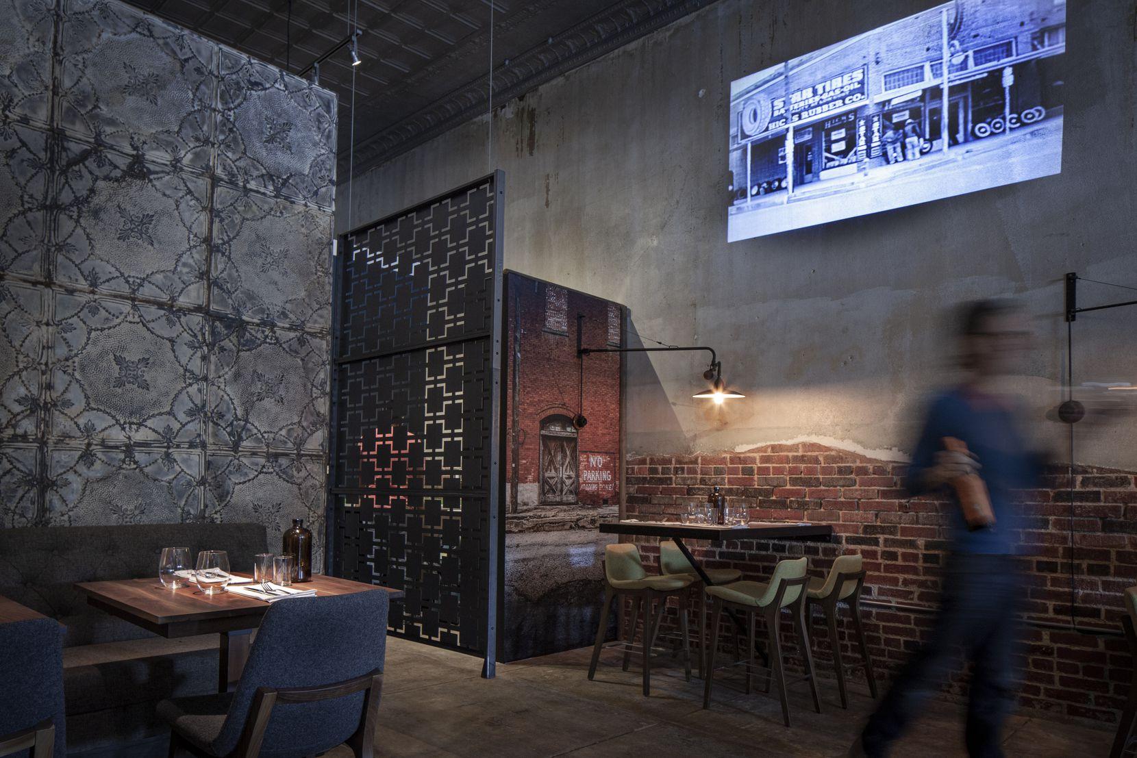The dining room at Black Cur Steak