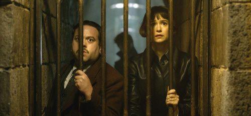 Dan Fogler y Katherine Waterston (Warner Bros. Pictures)