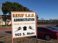 A new law could make it harder for the state to takeover school districts like Kemp ISD, although the overall impact of the legislation is unknown.