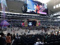 Pitbull performed during Kaaboo Texas at AT&T Stadium in Arlington on May 12, 2019.