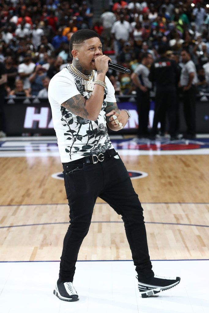 Yella Beezy performs at American Airlines Center on Aug. 17, 2019 in Dallas, Texas.