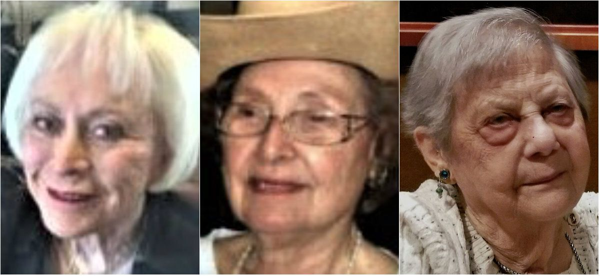 A Dallas County grand jury has handed down capital murder indictments against Billy Chemirmir in the deaths of Joyce Abramowitz (from left), killed in July 2016; Margaret White, killed in August 2016; and Doris Wasserman, killed in December 2017.