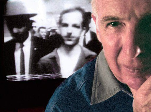 Robert Oswald, brother of Lee Harvey Oswald, in Dallas on Oct. 29, 1997.  Robert Oswald died Monday in Wichita Falls.