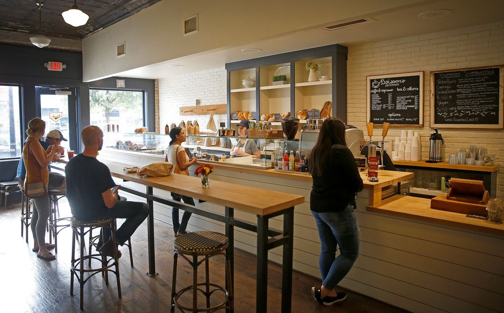 An interior shot of Village Baking Co. in Dallas, Wednesday, Sept. 27, 2017. (Jae S. Lee/The Dallas Morning News)