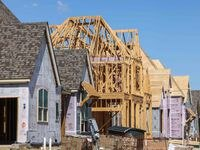 Construction material shortages and supply chain issues are adding months to home construction times. Permits for single-family home construction in North Texas had the biggest annual decline in more than two years.