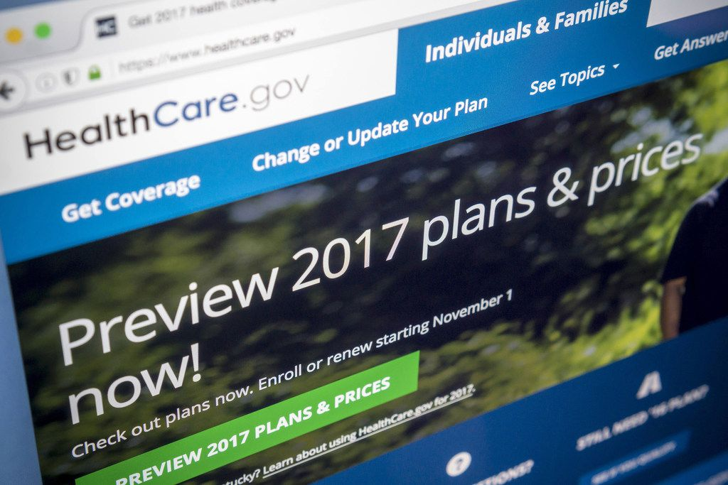 The Healthcare.gov website, assisting consumers in obtaining health insurance. (Richard B. Levine/Levine Roberts/Newscom/Zuma Press/TNS)