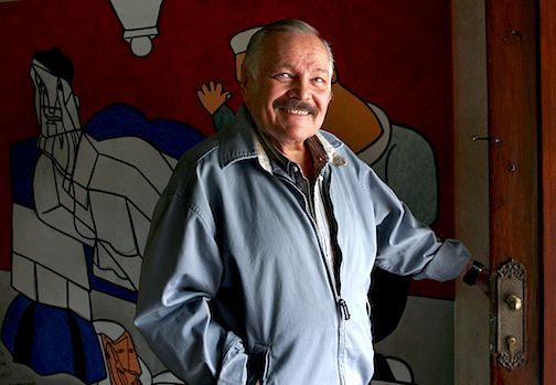El pintor mexicano José Luis Cuevas. AP