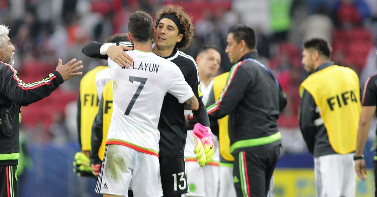 Miguel Layún y Guillermo Ochoa compartieron muchos momentos en la selección mexicana.