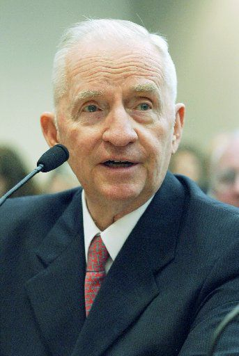 Ross Perot, shown testifying before the House Public Education Committee in Austin in 2005, is credited with helping to reboot Texas public schools for a knowledge-based economy.