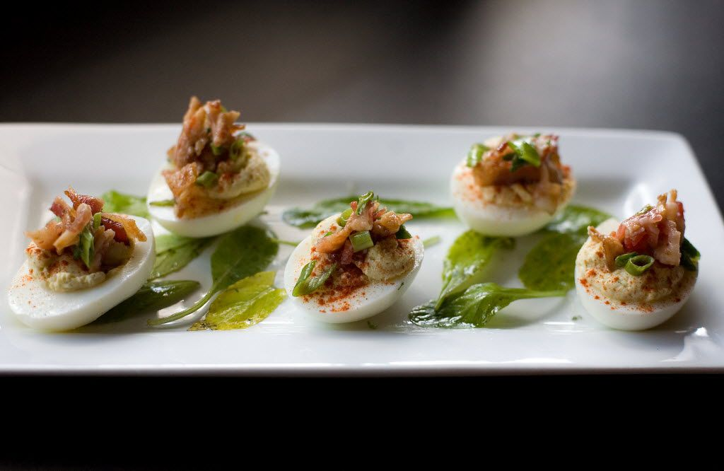 More than a few deviled eggs were consumed in Dallas this year.