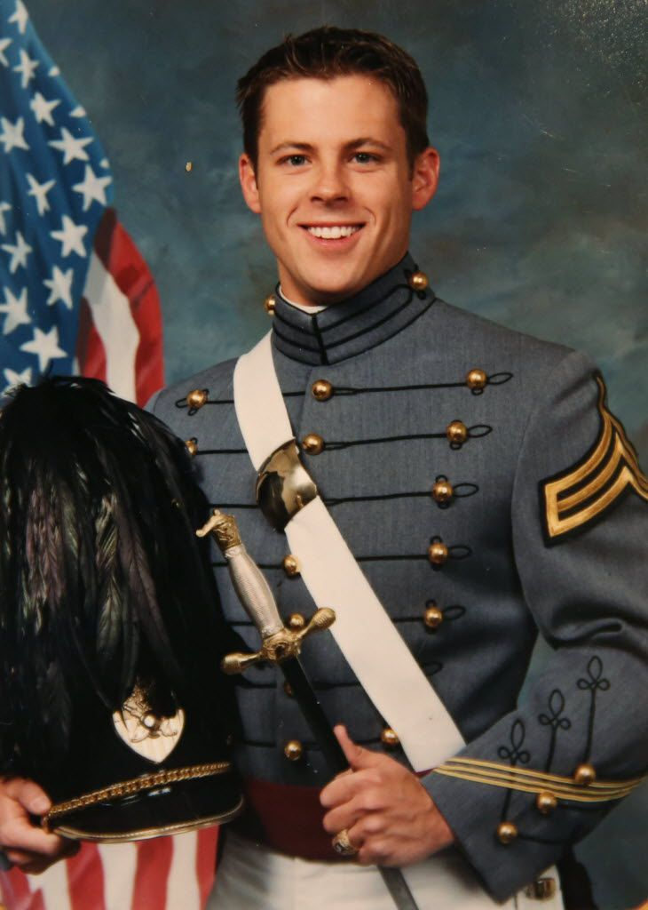 Brad Hunstable's portrait was taken in 2001 upon graduation from West Point. After 9/11, Brad had friends and classmates who were deployed overseas. Their experience of missing important life moments helped to inspire Ustream.
