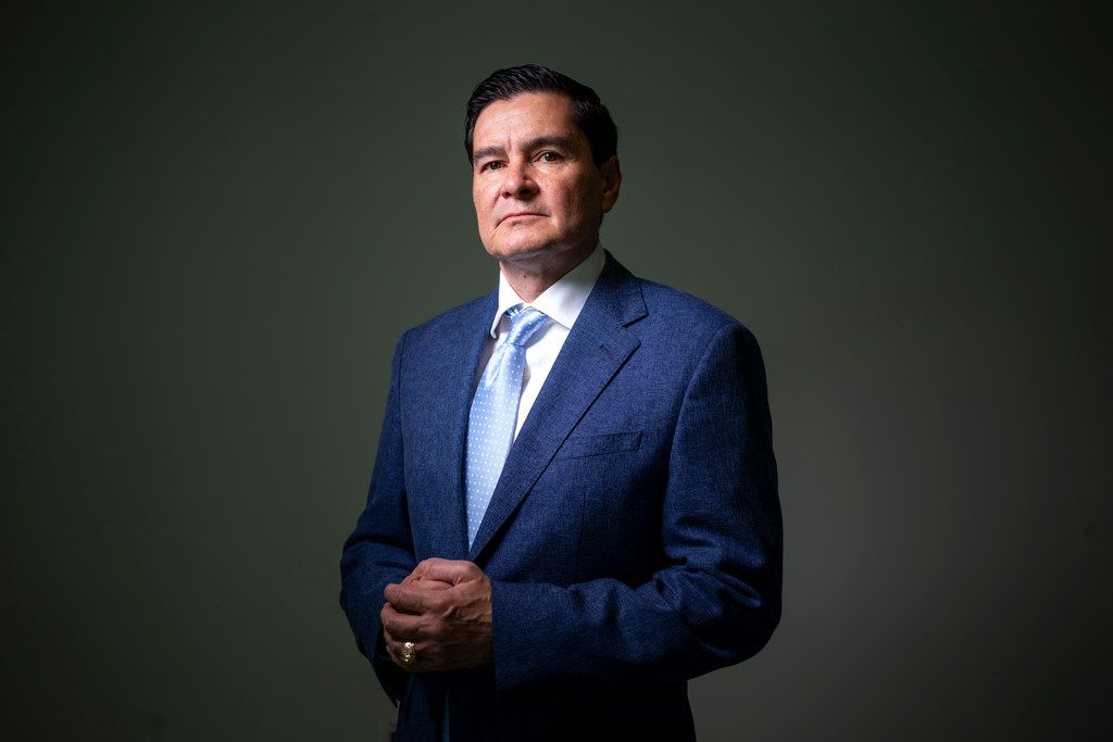 President and CEO Guillermo Perales poses for a photograph at Sun Holdings Inc. in Dallas on July 16, 2019. Sun Holdings recently opened its 1,000th store nationwide. Perales opened his first franchised store in 1997.