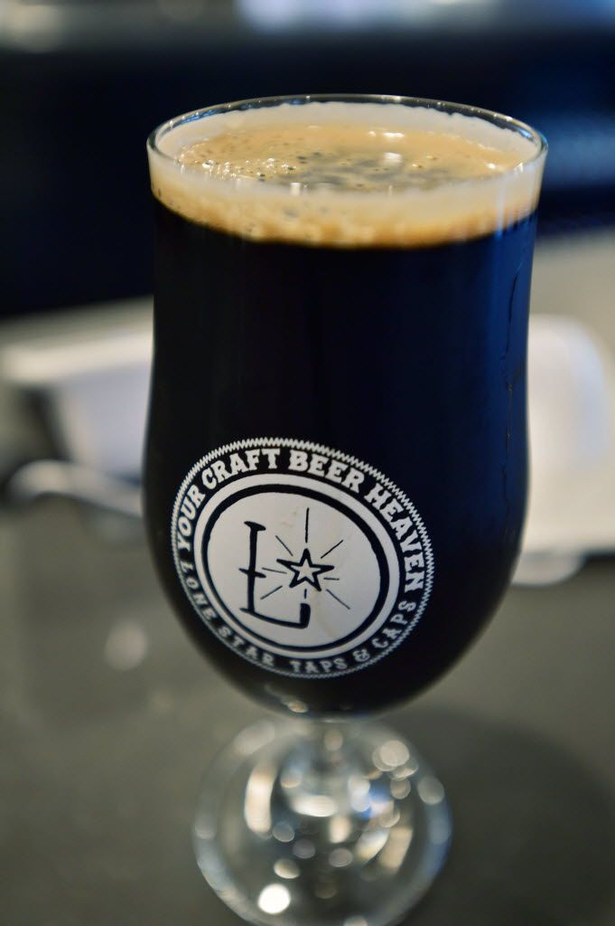 Lone Star Taps and Caps, with 50 craft beers on tap and more than 500 packaged beers, and Denton's first walk-up growler filling window, in Denton, TX.
