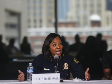 Dallas Police Chief U. Reneé Hall  has faced intense questions this year, both regarding the effectiveness of her crime-fighting strategies and her leadership during the chaotic four days of protests that began May 29.