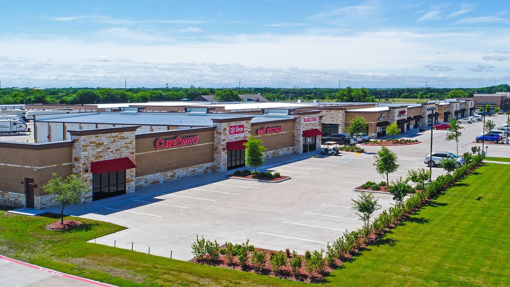 Trez Capital and Hines bought the Wylie storage complex.