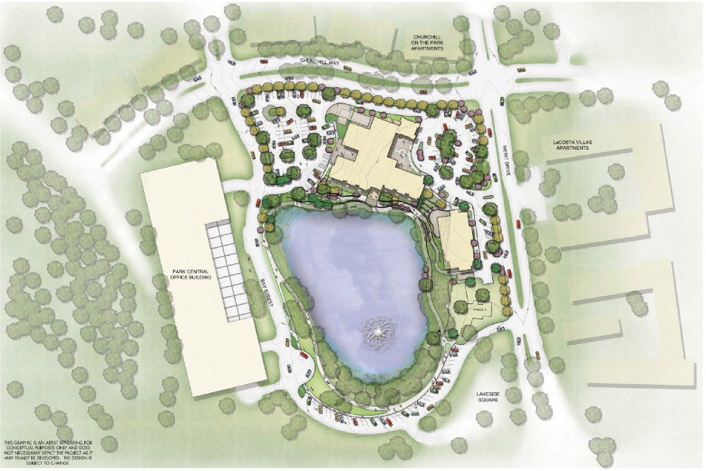 Site map of the 9 acre, $43 million T. Boone Pickens Hospice and Palliative Care Center, which is scheduled to open on February 15.