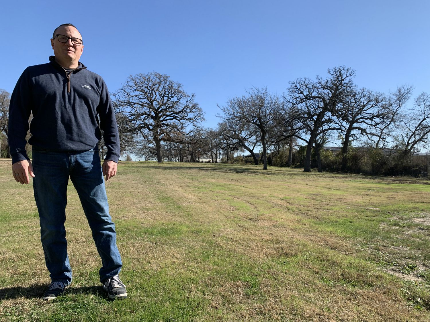 """Might as well be a Civil War battlefield,"" said Dan Babb as we walked the 3 acres of burial ground where you would never know more than 2,000 people had been buried between 1932 and 1976."