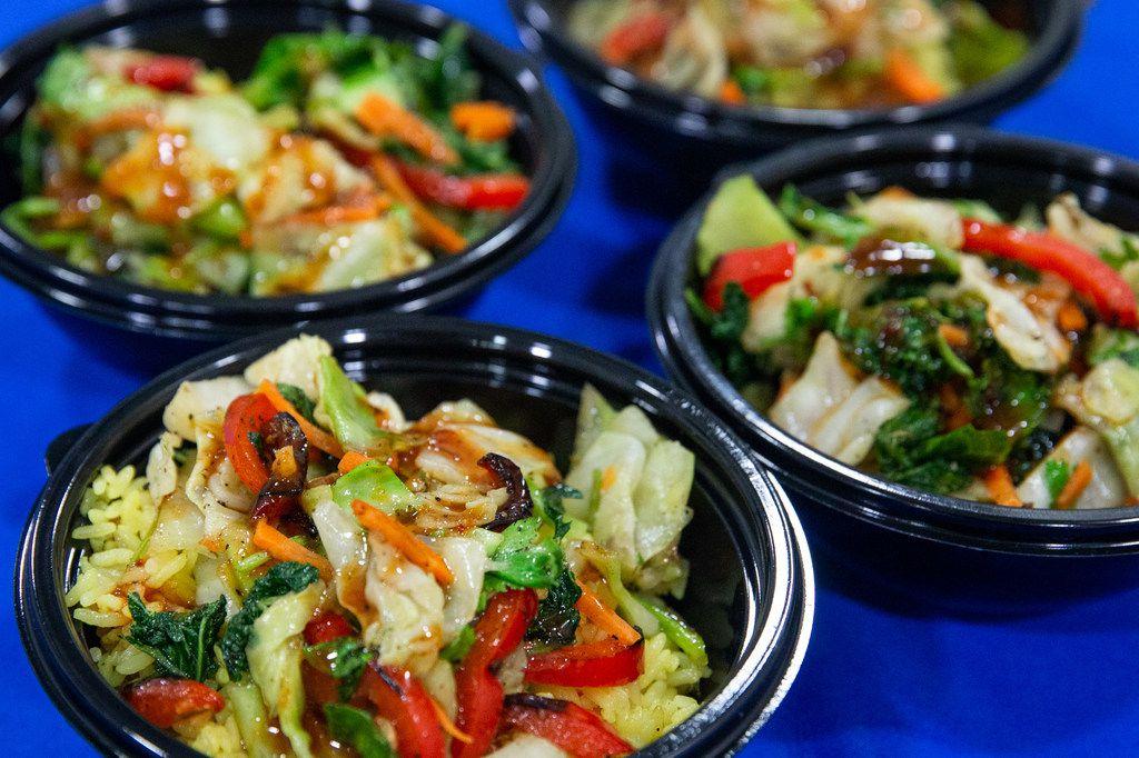 Calypso Island Shrimp Bowls