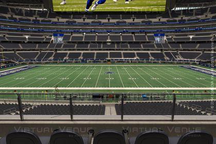 Sección C 235 del AT&T Stadium.