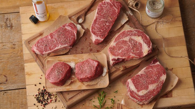 44 Farms in Cameron, Texas, produces beef for top restaurants.