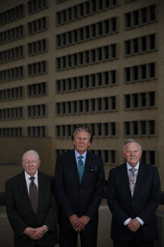 From left: Drs. Robert McClelland, Kenneth Salyer and Ronald Jones were all in the emergency room at Parkland Memorial Hospital when President John F. Kennedy was brought there on Nov. 22, 1963.