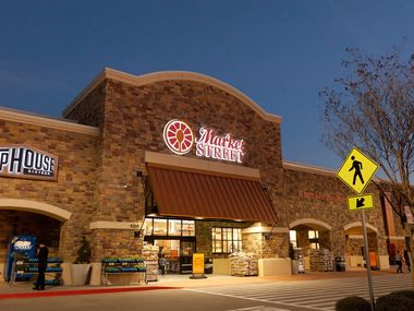 The Market Street location at 4268 Legacy Drive is one of many grocery stores in Frisco offering pickup and delivery options.