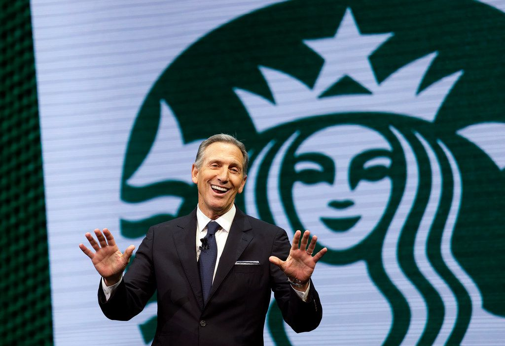 Starbucks CEO Howard Schultz announced Monday that he's stepping away from the Seattle-based chain later this month.