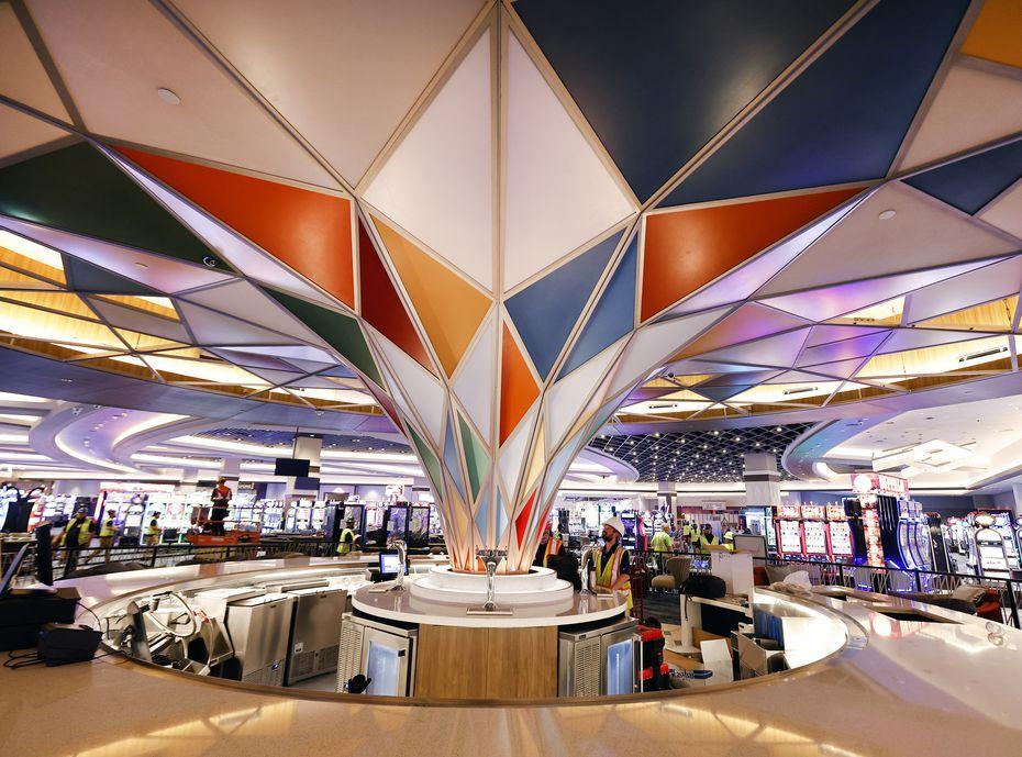 El Casino Choctaw incorporó 40 nuevas mesas de póker y más de 3,300 máquinas tragamonedas.