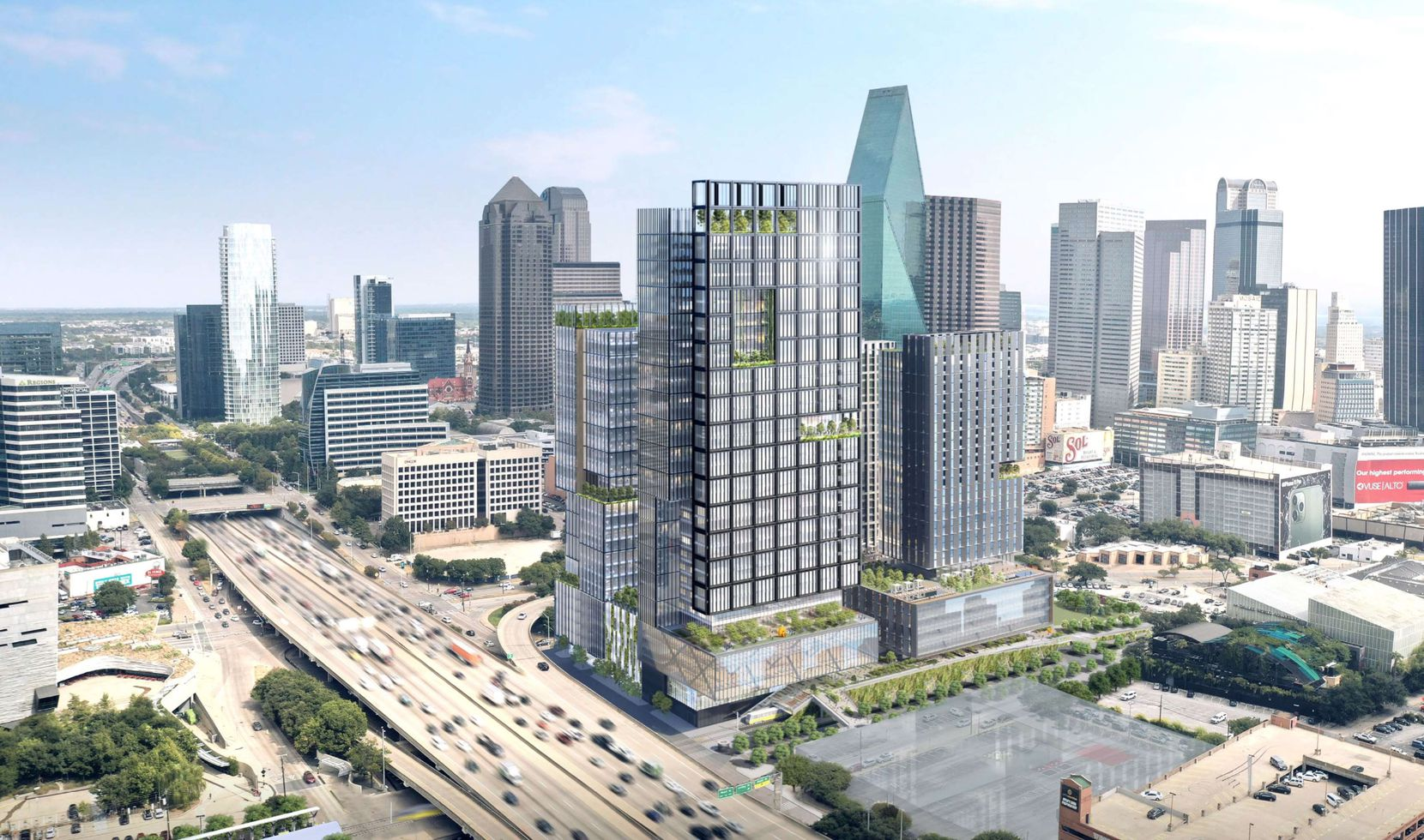 The $1 billion Field St. District is planned for up to 5 million square feet of high-rises on the northwest corner of downtown.