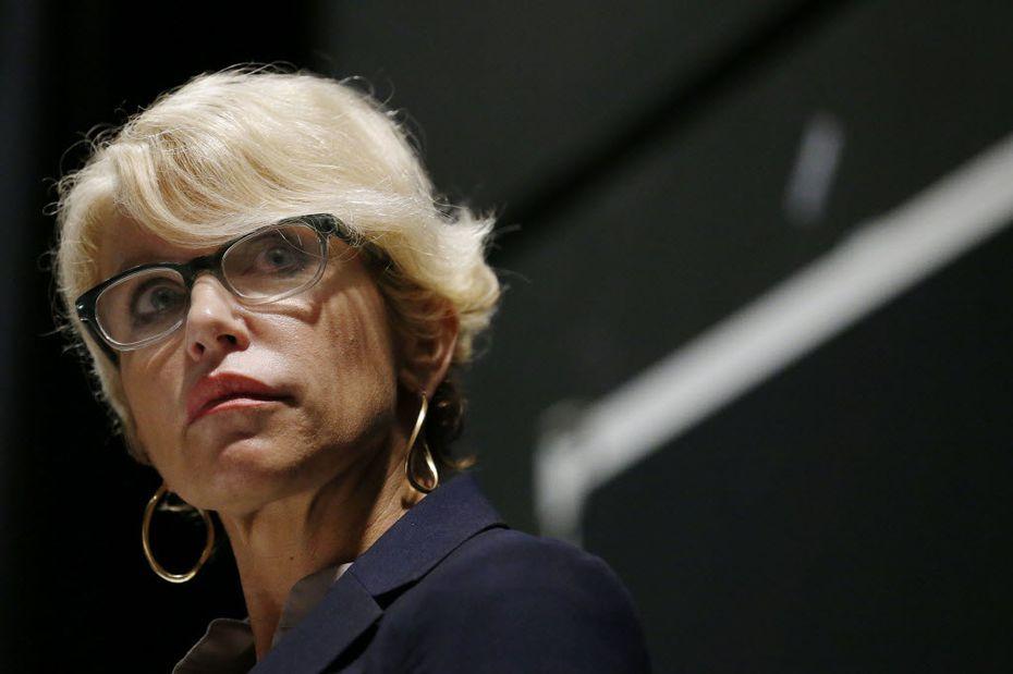 Former Dallas County District Attorney Susan Hawk.