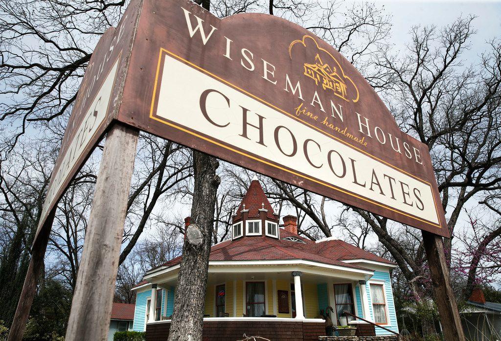 Wiseman House Chocolates in Hico.
