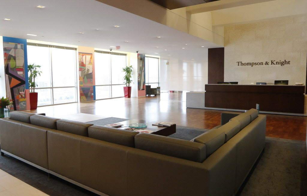 Thompson and Knight's offices in Dallas.