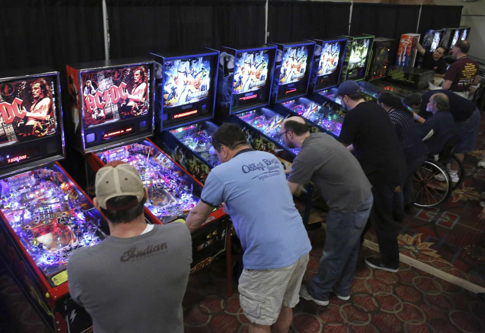 The Texas Pinball Festival is hosted in Frisco every March.