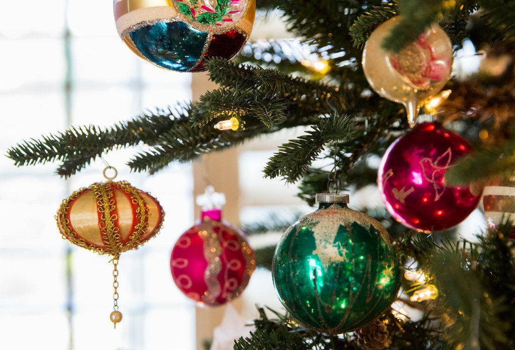 Post-Christmas clearance sales are the best time to shop for deals on tree ornaments and other decorations.