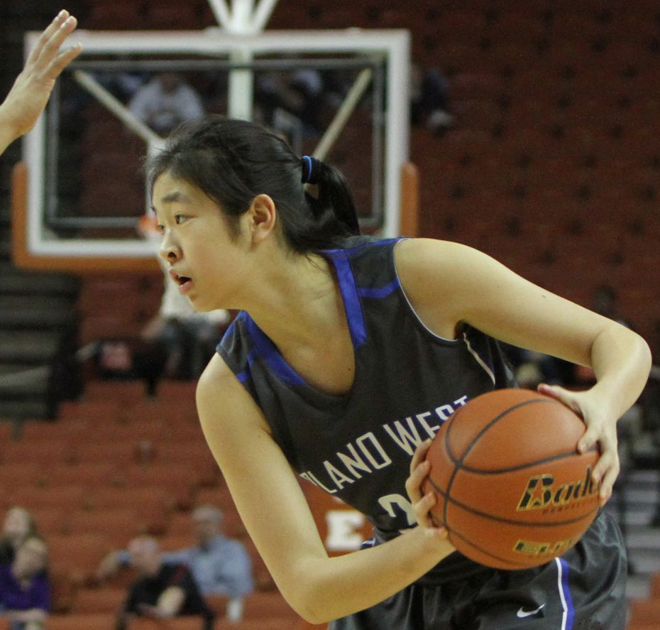 Natalie Chou, then a sophomore at Plano West, was ranked 12 nationally in the 2016 class by ESPN's HoopGurlz. She now plays basketball for UCLA.