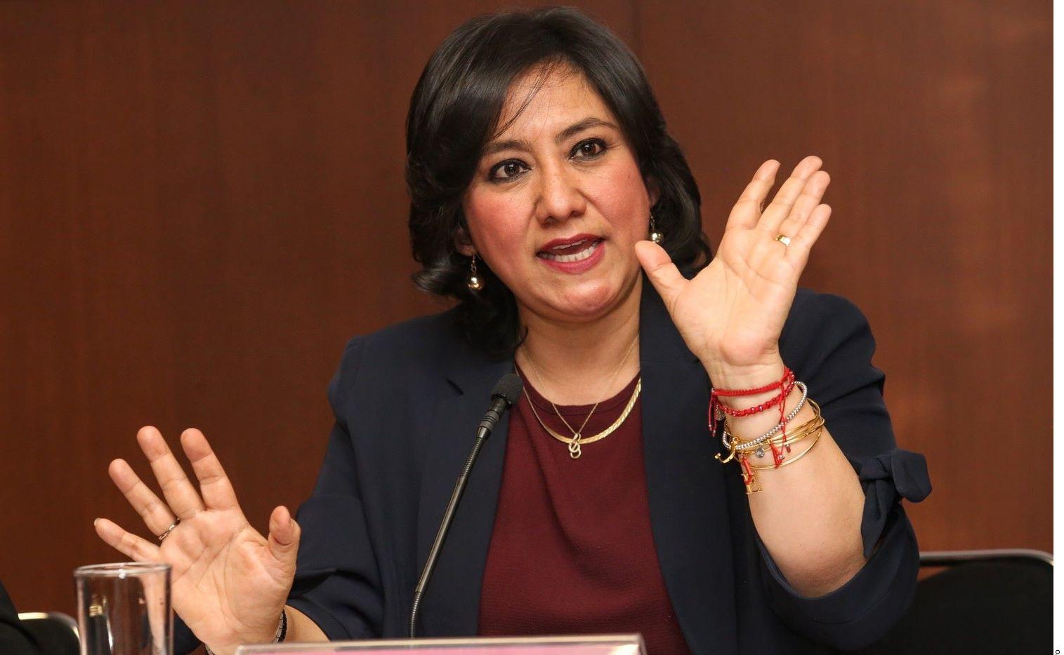 Irma Sandoval, titular de SFP, dio positivo a covid-19, con lo que se convierte en el primer caso confirmado de un miembro del Gabinete.