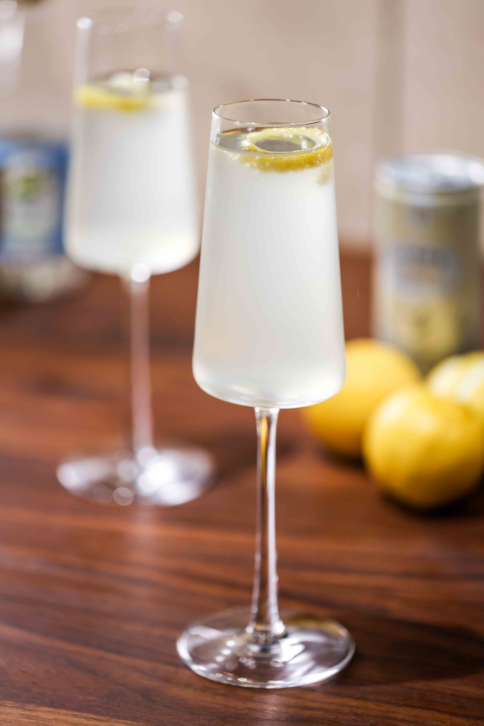 French 86, an alcohol-free beverage by Beth Hutson from The Elevated Elixir