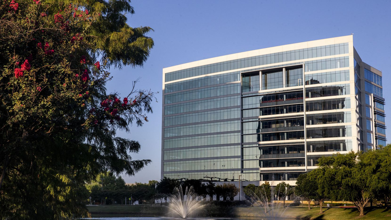 The Fannie Mae office is at the Granite Park VII building in Plano.
