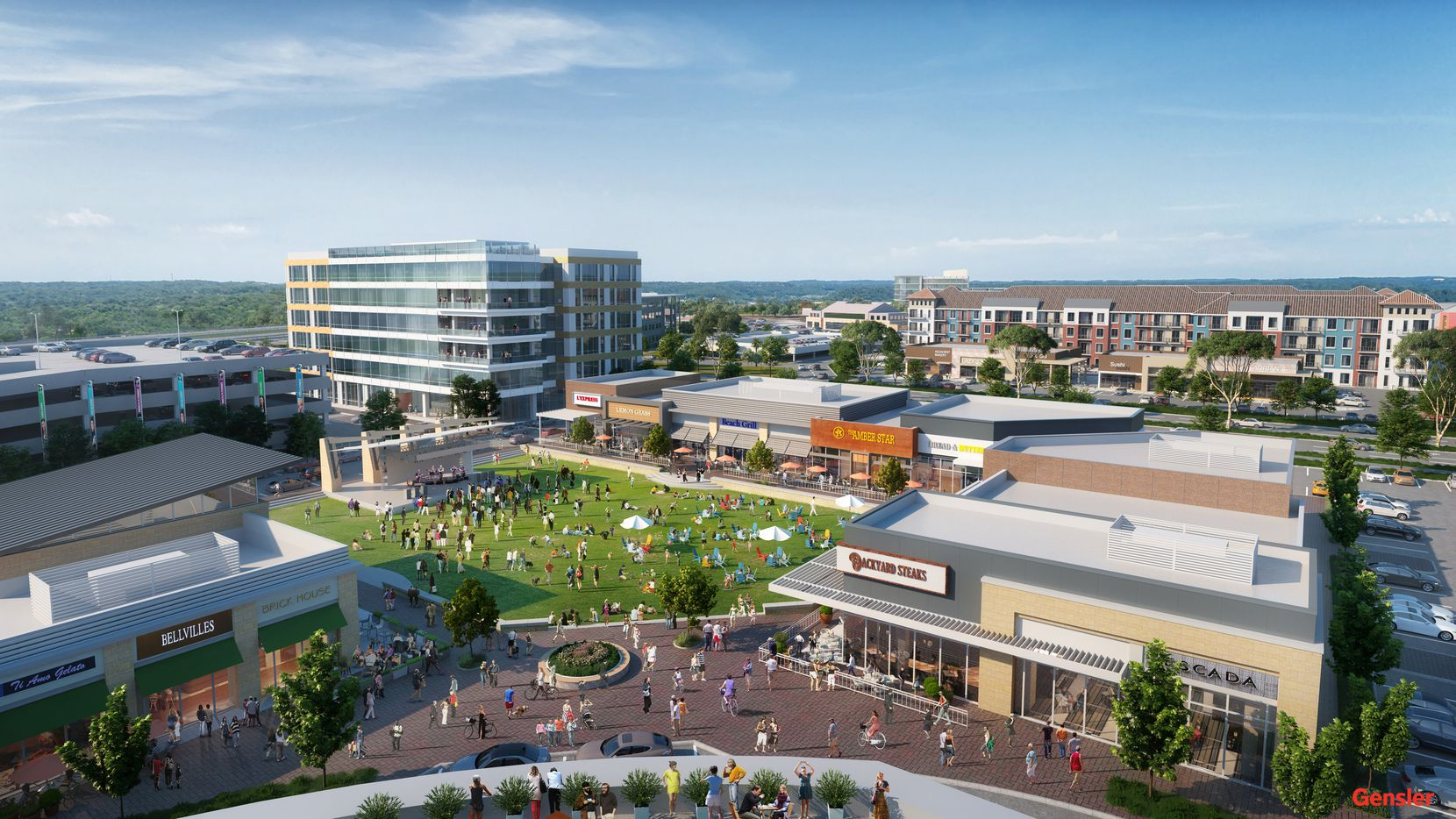 The 18-acre District 121 mixed-use development is planned at S.H. 121 and Alma Road in McKinney.