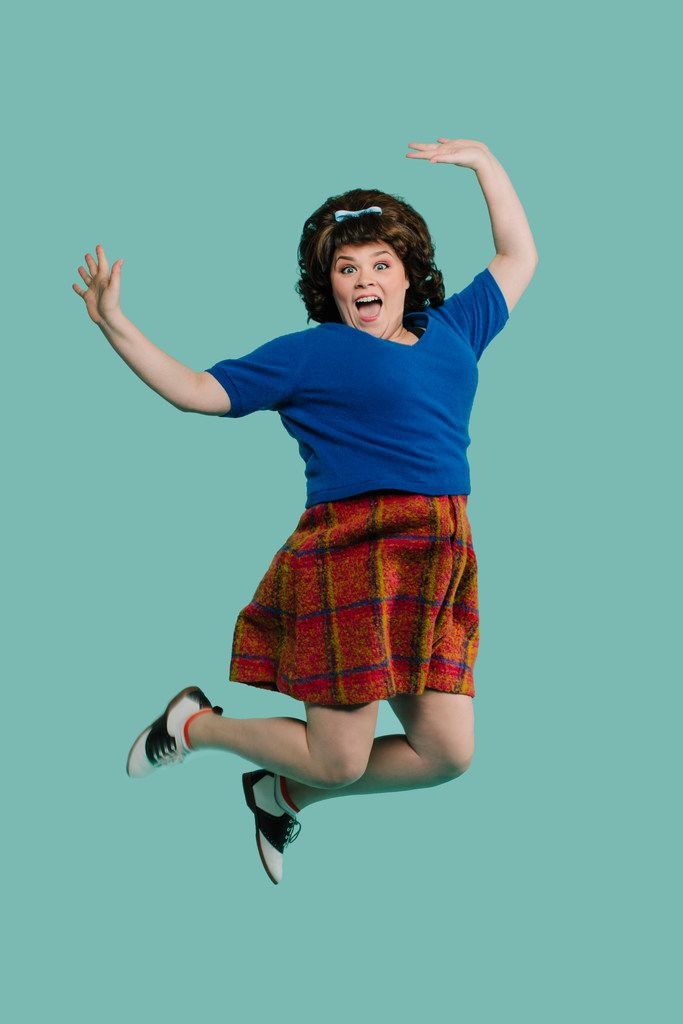 Michelle Dowdy stars as Tracy Turnblad in Hairspray, a co-production of Dallas Theater Center and AT&T Performing Arts Center at Winspear Opera House July 7-15.