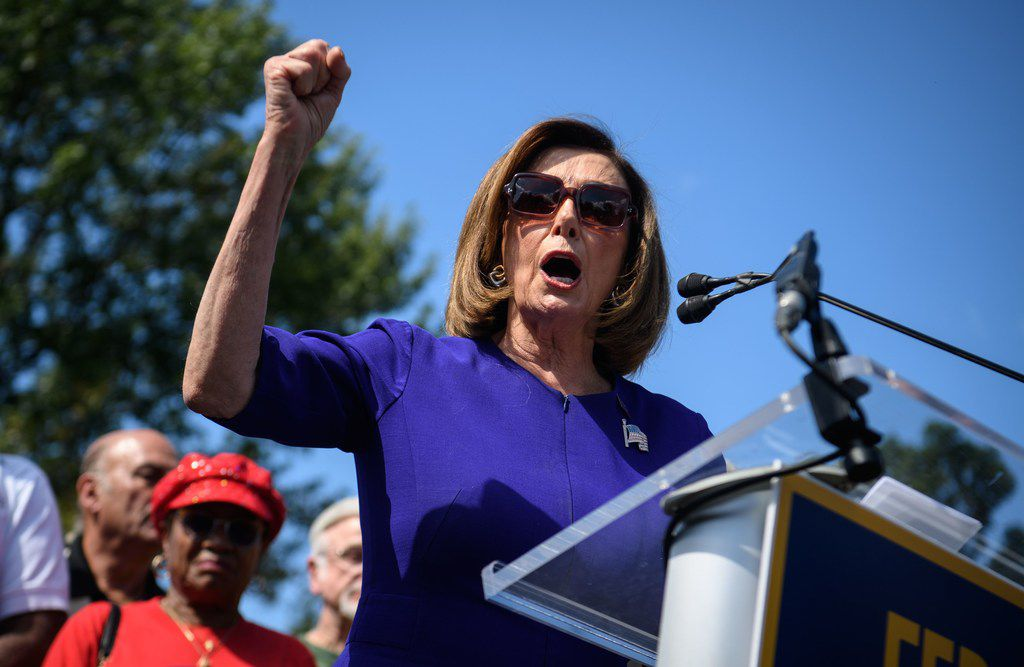 House Speaker Nancy Pelosi on Tuesday launched a formal impeach inquiry aimed at President Donald Trump