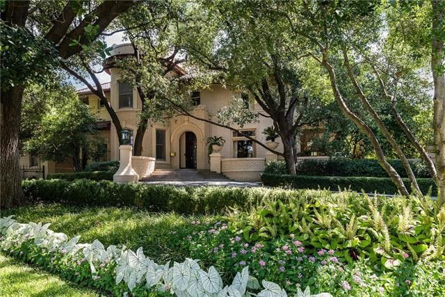 The Highland Park estate that just sold was the longtime home of the Al G. Hill family.