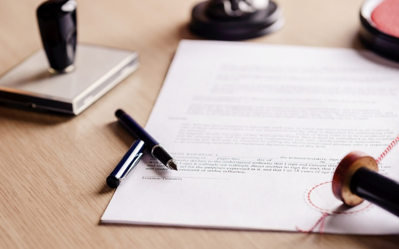 Recently there have been unexpected delays in obtaining documents.