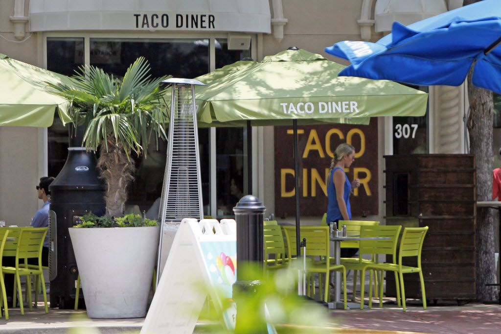 This 2016 file photo shows the Taco Diner location in Dallas' West Village. The restaurant group behind the local chain, known for its Mexico City-style street food, announced that it was closing its locations in Irving and Fort Worth.