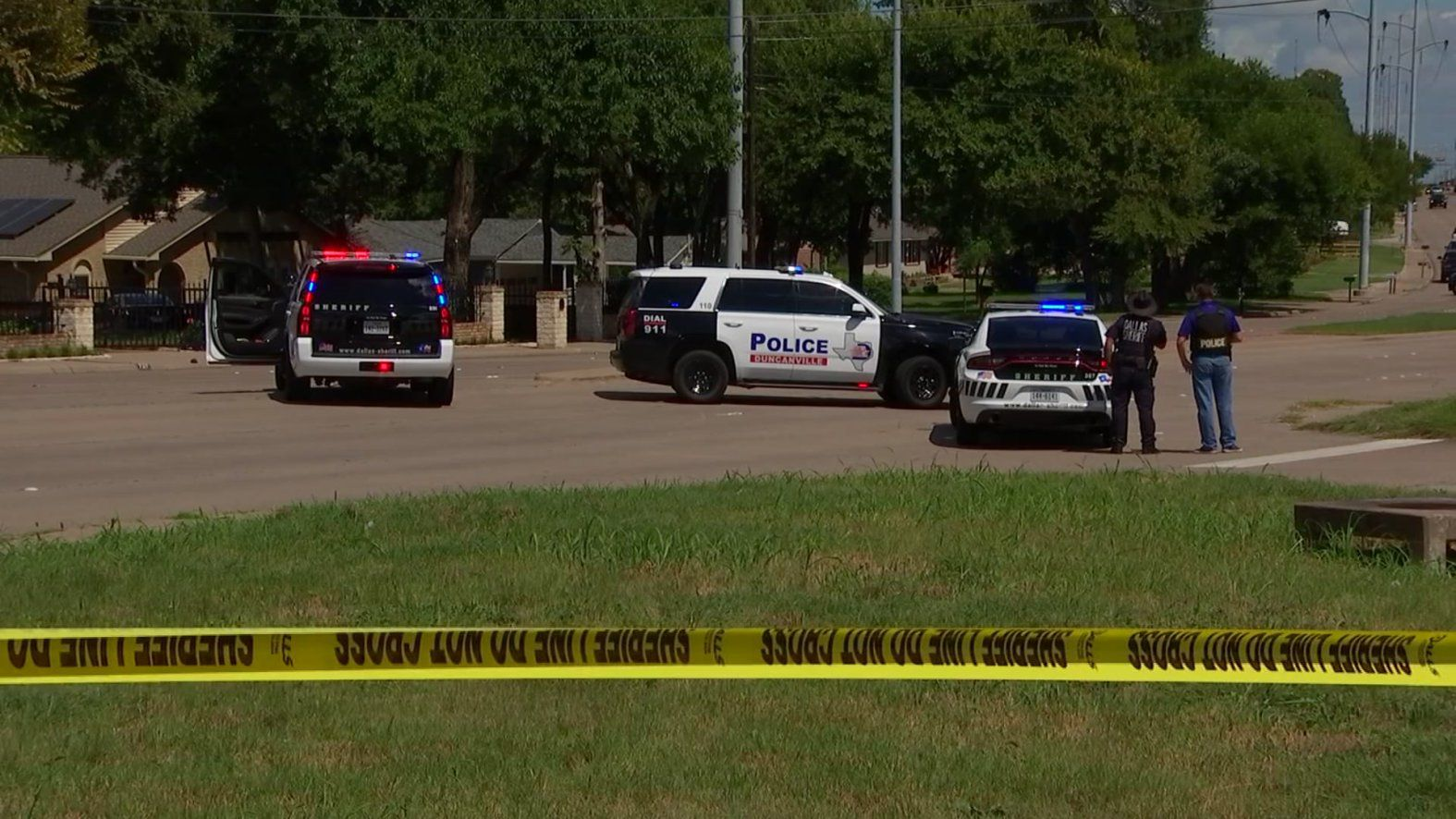 Duncanville police said a 20-year-old man was shot Friday afternoon.