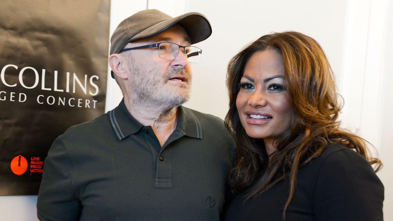 Phil Collins dijo que ya no mantendrá económicamente a Orianne Cevey, luego que su expareja contrajo matrimonio con otro hombre.