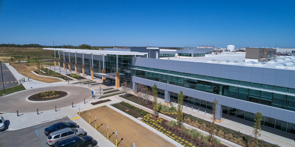 """Toyota completed its """"One Toyota"""" project by opening an $80 million, 235,000 square foot engineering and manufacturing center in Georgetown, Kentucky, on Monday, Oct. 30."""