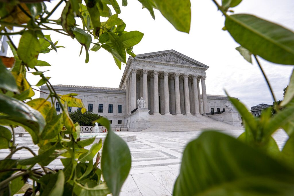 La Corte Suprema de Estados Unidos el lunes 15 de junio de 2020, en Washington, D.C. (AP Foto/J. Scott Applewhite)